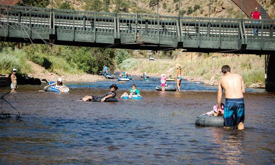 Tubing St  Vrain River in Lyons Colorado – Jason Runkel Sperling